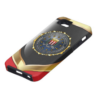 Emblema del FBI iPhone 5 Case-Mate Cárcasas