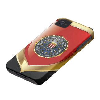 Emblema del FBI iPhone 4 Cárcasa