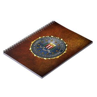 Emblema del FBI Libreta