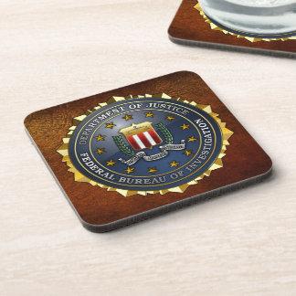 Emblema del FBI Posavasos