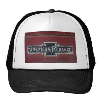 Emblema del Firetruck de LaFrance del americano Gorras