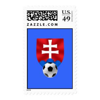 Emblema del fútbol de Eslovaquia para Slovaks por Franqueo