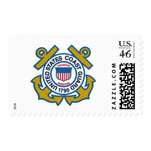 Emblema del guardacostas sellos