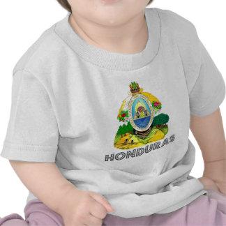 Emblema del Honduran Camiseta