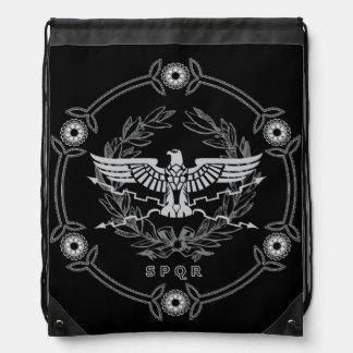 Emblema del imperio romano mochilas