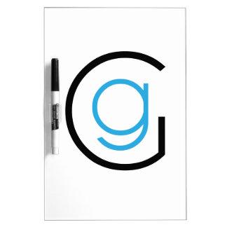 Emblema del logotipo del GG Tablero Blanco