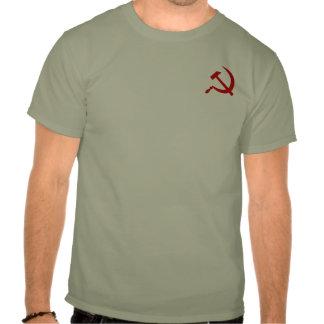 Emblema del martillo y la camiseta de los hombres