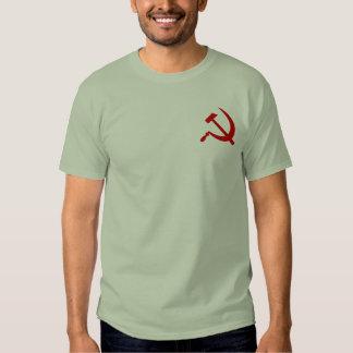 Emblema del martillo y la camiseta de los hombres remeras