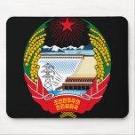 emblema del norte de Corea Alfombrilla De Ratón