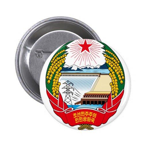emblema del norte de Corea Pin