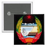emblema del norte de Corea Pins
