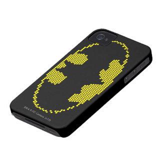 Emblema del palo Lite-Brite iPhone 4 Case-Mate Cobertura