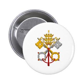 Emblema del papa oficial Symbol Coat del papado Pins
