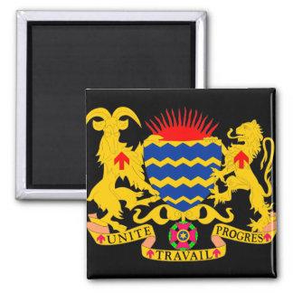emblema del sábalo imán cuadrado