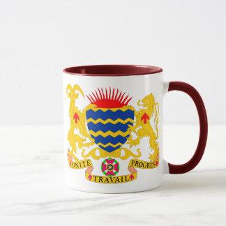 emblema del sábalo taza