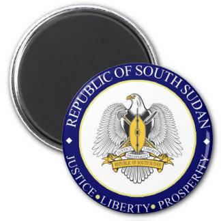 emblema del sur de Sudán Imán De Frigorífico