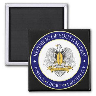 emblema del sur de Sudán Imán Para Frigorífico