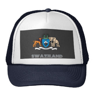 Emblema del Swazi Gorros Bordados