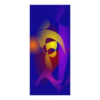 Emblema en el escudo tarjeta publicitaria personalizada