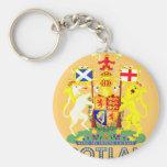 emblema escocés llaveros personalizados