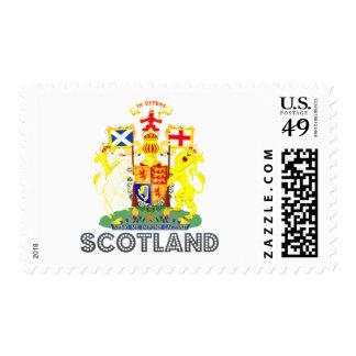 emblema escocés franqueo