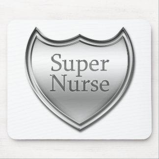 Emblema estupendo de la enfermera mouse pad