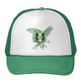 Emblema estupendo del fútbol de Naija Eagle Gorras