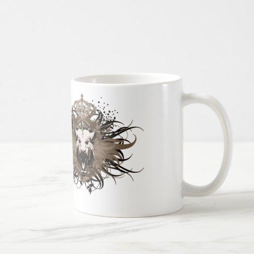 Emblema felino taza