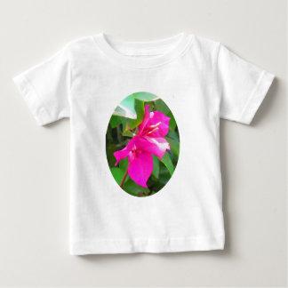 Emblema floral del bougainvillea de la flor del playera de bebé