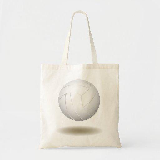 Emblema fresco 1 del voleibol bolsa de mano