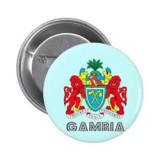 Emblema gambiano pin