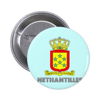 Emblema holandés pin redondo de 2 pulgadas