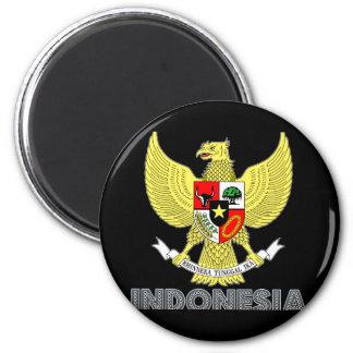 Emblema indonesio iman para frigorífico