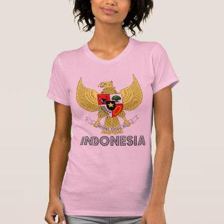 Emblema indonesio camiseta