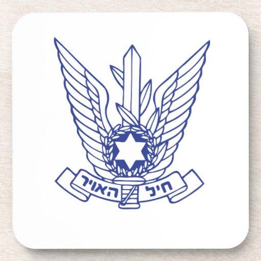 Emblema israelí de la fuerza aérea posavaso
