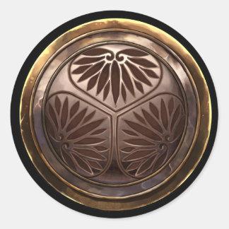 Emblema japonés (Kamon) Etiquetas