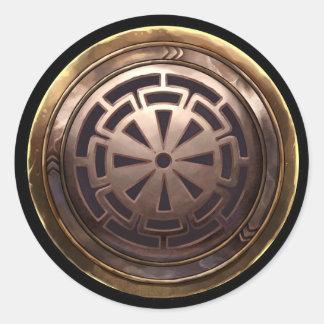 Emblema japonés (Kamon) Pegatina