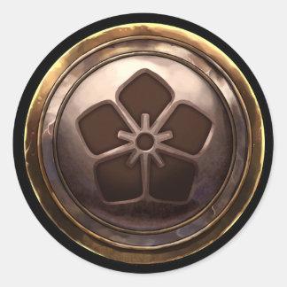 Emblema japonés (Kamon) Pegatinas