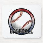 Emblema los E.E.U.U. Mousepad del béisbol Alfombrillas De Ratones
