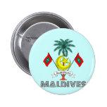 Emblema maldivo pins