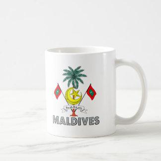Emblema maldivo taza