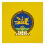 Emblema (mongol) mongol póster