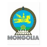 Emblema mongol postal