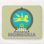 Emblema mongol tapete de ratones