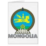 Emblema mongol tarjetón