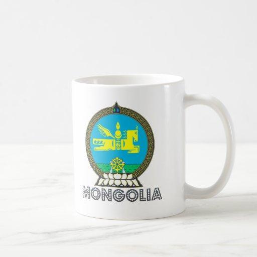 Emblema mongol taza