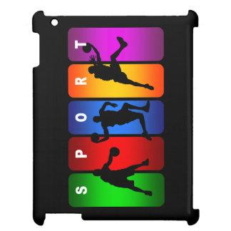 Emblema multicolor del baloncesto