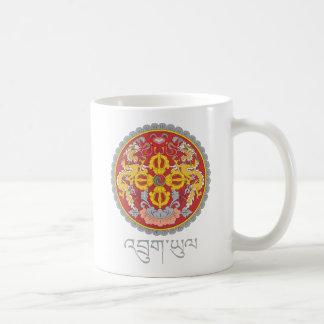 Emblema nacional de Bhután Taza
