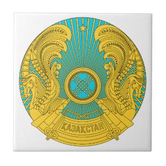 Emblema nacional de Kazajistán Tejas Cerámicas