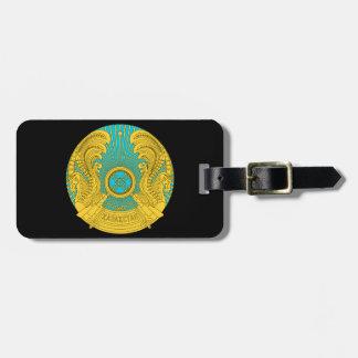 Emblema nacional de Kazajistán Etiquetas De Equipaje